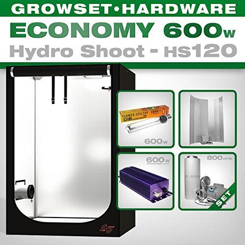 Hydro Shoot hs120 Grow Kit 600 W Economy