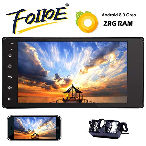 Doppeltes 2 Din Android 8.1 Auto-Video-Player Quad-Core 2G Autoradio für TOYOTA Corolla Cruiser Tundra Camry Radio 7Zoll InDash GPS-Sat-Navigations Bluetooth Wifi 3G-Telefonverbindung Rückfahrkamera Toyota Fj Cruiser Subwoofer