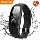 Runme Activity Tracker, Fitness Tracker with Heart Rate and Sleep Monitor, Smart Fitness