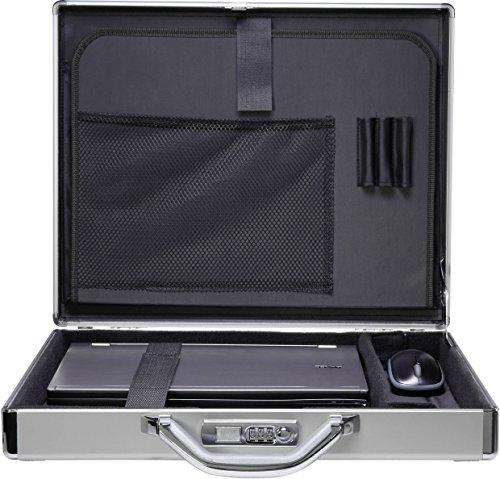 Renkforce Notebook valigia JJV-2003S adatto per maximal: 39,6 cm (15,6 ) alluminio