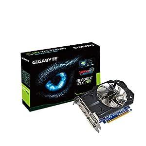 Gigabyte N750OC-1GI Carte Graphique Nvidia GeForce GTX 750 1085 MHz 1024 Mo PCI-Express