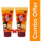 Set Wet Wet Look Hair Styling Gel For Men, 100ml (Pack of 2)