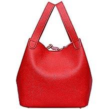 KanLin1986 Mujeres Bolsos mochila bolsas de hombro bolsos mujer baratos Shoppers Tote Bolsos Vintage cuero Bolsos