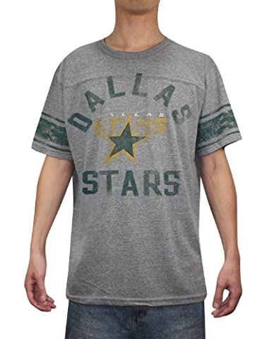 NHL Dallas Stars Mens Athletic manches courtes T -Shirt (look