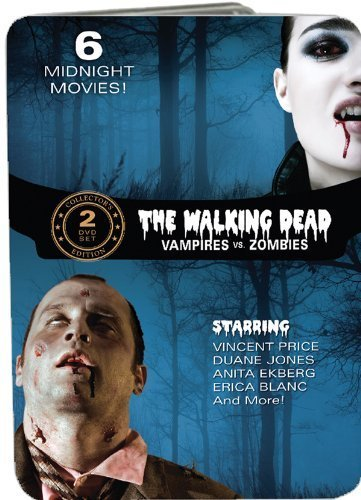 Bild von The Walking Dead: Vampires vs. Zombies (Fangs of the Living Dead / Grave of the Vampire / The Devil's Nightmare / Zombie Hell House / Night of the Living Dead / The Last Man on Earth) by Anita Ekberg