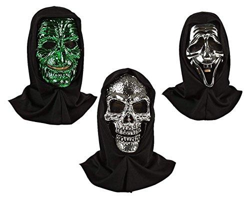 Srebrna maska Halloween