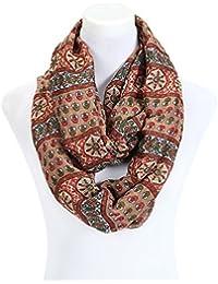 écharpe femme tube loop foulard - couleurs différentes