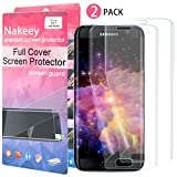 Nakeey [2 Stück] Samsung S7 Edge Schutzfolie, Displayschutz Screen Protector Full Curved HD [3D Touch kompatible] TPU Film Screen Protector Display Folie für Samsung Galaxy S7 Edge