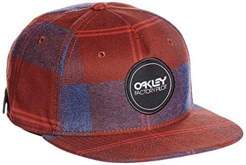 Oakley FP Printed snap-Back Cap Herren Einheitsgröße rot