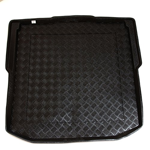 Skoda Octavia III Estate (since 2013) - bottom tray of the boot - Boot Liner Mat Tray with FREE Velour Insert worth £9.99
