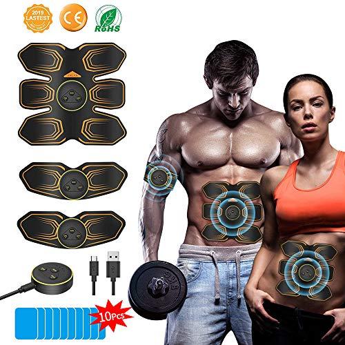 ANLAN Electroestimulador Muscular Abdominales