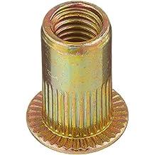20pcs cabeza plana métrica de acero M5Ciegos Insertar Rivet Nut