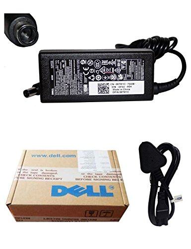 Dell Power Cable & Dell Genuine Original Laptop Adapter Charger 65w 19.5V 3.34A Inspiron 15 3452, 3520, 3521, 3540, 3541, 3543