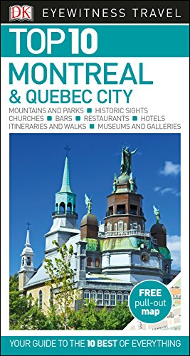 Montreal & Quebec city. Top 10 eyewitness (DK Eyewitness Travel Guide) por Vv.Aa.