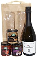UK Giftbox Dad I love you this much Prosecco and Chutney Gift Set