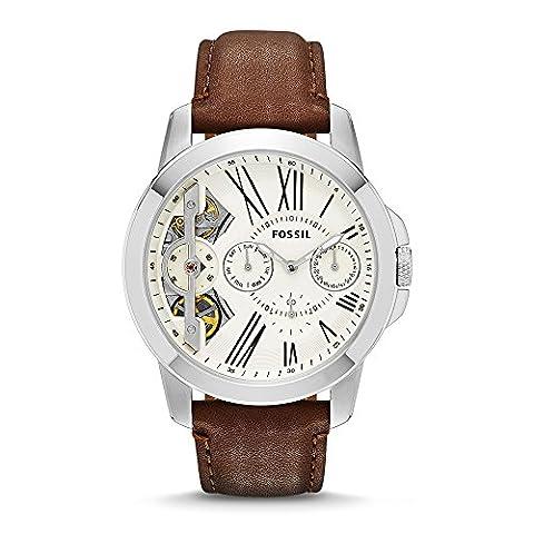 Fossil Herren-Uhren ME1144 (Herren Fossil Skelett)