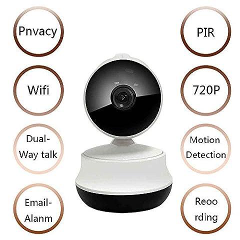 Audio Bidirectionnel et Vision Nocturne pour le Surveillance de bébé/Personnes