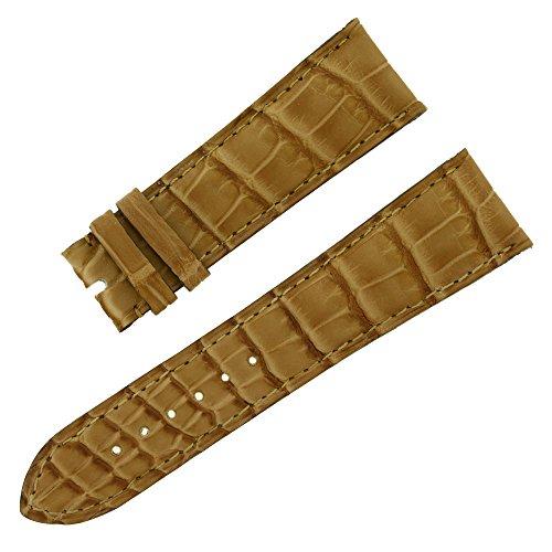 chopard-22-18-mm-mat-noisette-alligator-veritable-bande-de-montre-pour-hommes