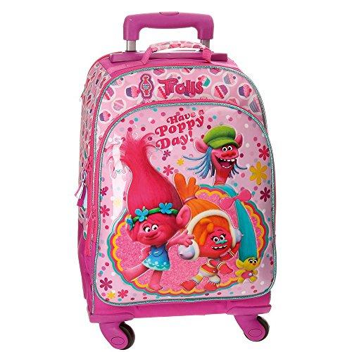 Imagen de trolls happy  escolar, 44 cm, 30.49 litros, rosa