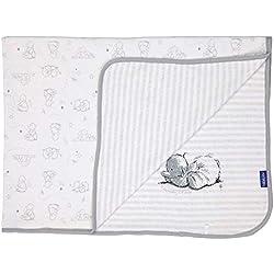 Bébé-Jou Cosy Humphrey - Arrullo-mantita, algodón 100%, reversible