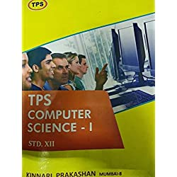 TPS Computer Science 12th standard Book set part 1 and part 2 for hsc