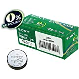1 x Sony 379 SR521SW Silver Oxide 0% Mercury Watch Battery