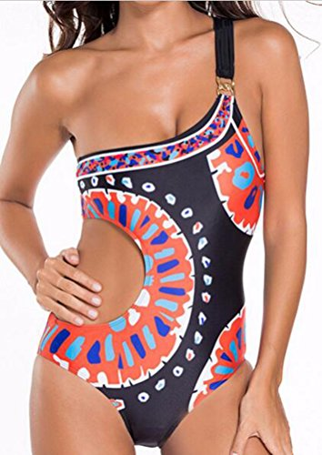 sunifsnow-donna-sexy-una-spalla-un-pezzo-estate-stampato-beachwear-bikini-multicoloured-medium