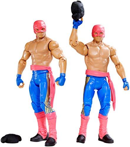 Figur WWE Los Matadores (Diego & Fernando) Battlepack Serie (Wwe Figuren Big Pack)