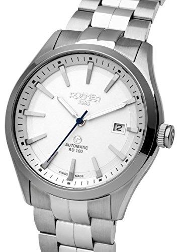 Roamer Herren-Armbanduhr Rotodate Chronograph Quarz 951660 41 25 90