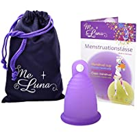 Me Luna Coupe menstruelle Classic, bague, Violet, Taille XL