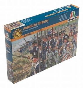 Italeri 6060S  - Guerra de la Independencia Americana - American Infantería