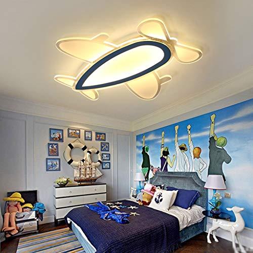Acryl LED Deckenleuchte, Cartoon dünner Kronleuchter Studierzimmer Schlafzimmer für Kinder Leuchten Decke Gang Kindergarten Vergnügungspark Pendelleuchte 35W,WarmLight -