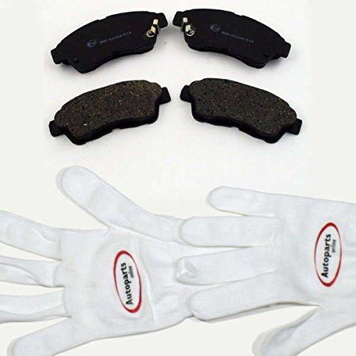 Autoparts-Online Set 60005793 Bremsbeläge/Bremsklötze/Bremsen für Vorne/für die Vorderachse (Bremsbelag Toyota)