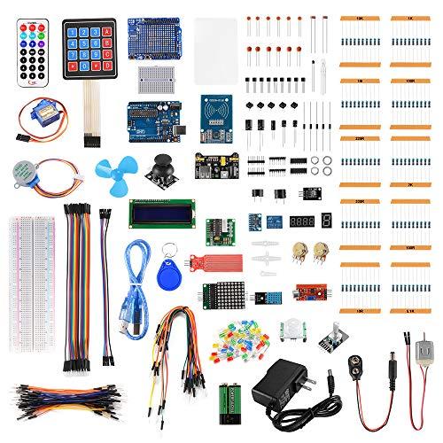 Kreema Starter Learning Kit für Arduino Projekte Raspberry Pi RFID-Modul LCD1602 UNO R3 verbesserte Version
