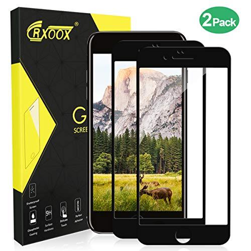 CRXOOX [2-Pack Protector Pantalla iPhone 7 Plus/iPhone