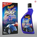 MEGUIAR'S_bundle Meguiars Autopflege Autoshampoo NXT Car Wash Shampoo + NXT Generation Tech Wax 2