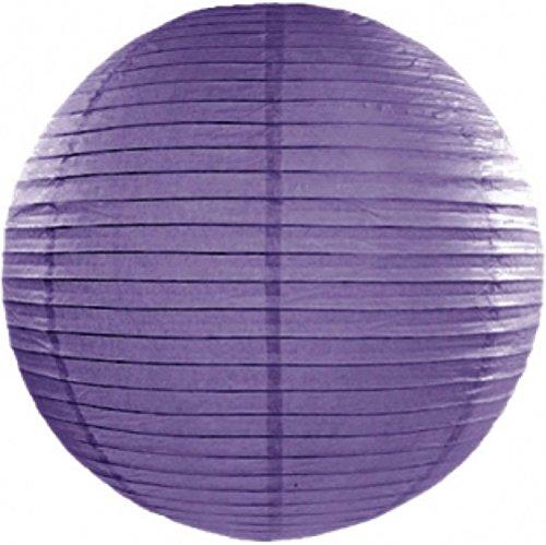 Lanterne Boule - Violet x 35 cm - Taille Unique
