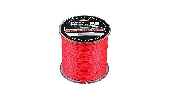 CyFe Fil de p/êche tress/é 4 brins 300 m PE r/ésistance /à labrasion 4,5-40 kg Gris