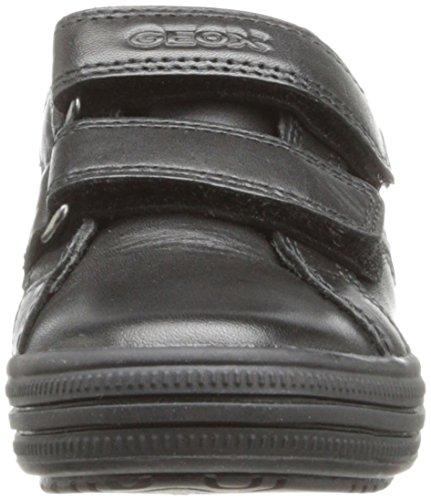 Geox Elvis K, Baskets Basses garçon Noir (Black)
