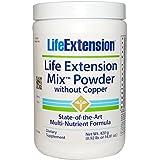 Life Extension, Poudre mélangé sans cuivre, 14.81 oz (420 g)