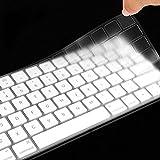 XIHAMA Silikon Tastaturschutz mit Touch Bar, Hauchdünner Tastatur Schutzfolie Cover Haut für neue 2016-2018 MacBook Pro 13