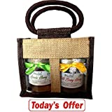 Farm Naturelle-Aesthetically Designed Jute Gift Bag With Pure Raw Natural Unheated Unprocessed Forest Wild Berry...