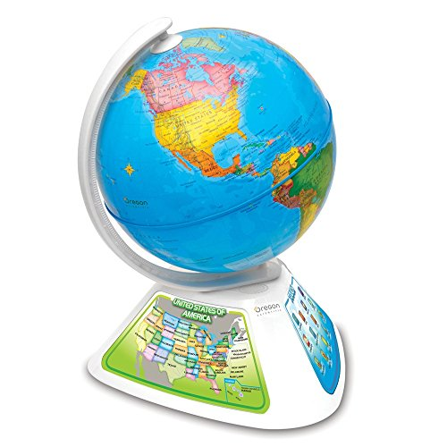 Oregon Scientific Smart Globe Discovery SG268 - Juguete educativo, globo interactivo