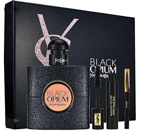 Yves Saint Laurent Black Opium Xmas Set 50ml Eau de Parfum + Mascara Volume Effet Faux Cils +...