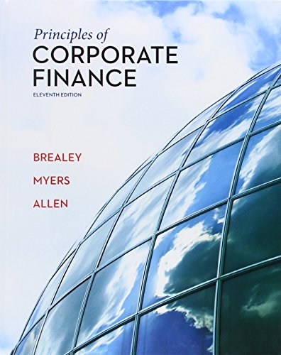 Principles of Corporate Finance (The Mcgraw-hill/Irwin Series in Finance, Insureance, and Real Estate) por Richard A. Brealey