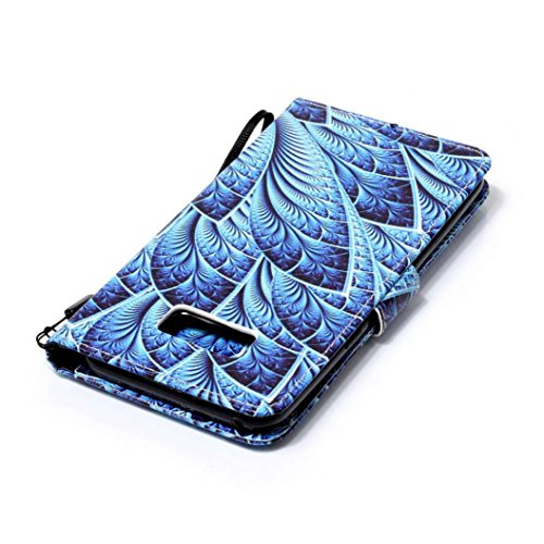 Cas pour Samsung Galaxy S8/Samsung Galaxy S8 plus, Malloom Coquille Gaine Support à poche Flip Housse en PU cuir H