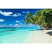 Fotomural playa en el paraíso 375 x 250 cm | pared Imágenes XXL – cuadro de