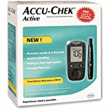 Accu Chek Active Meter With 50 Strips (Multicolor)