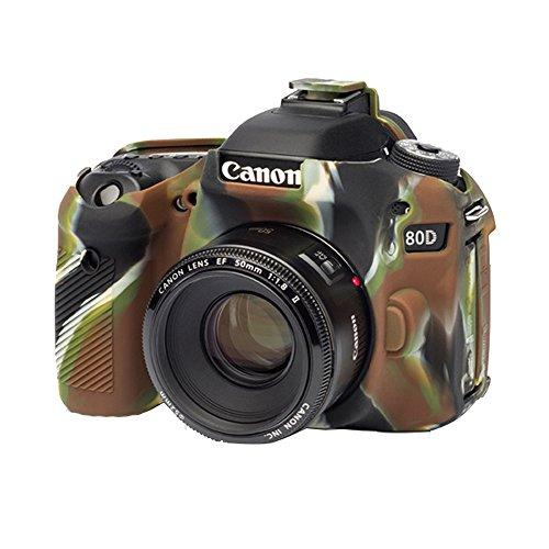 EasyCover Canon 80D Camera Case  Camouflage