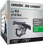 Rameder Attelage escamotable pour KIA SPORTAGE + Faisceau 7 Broches...